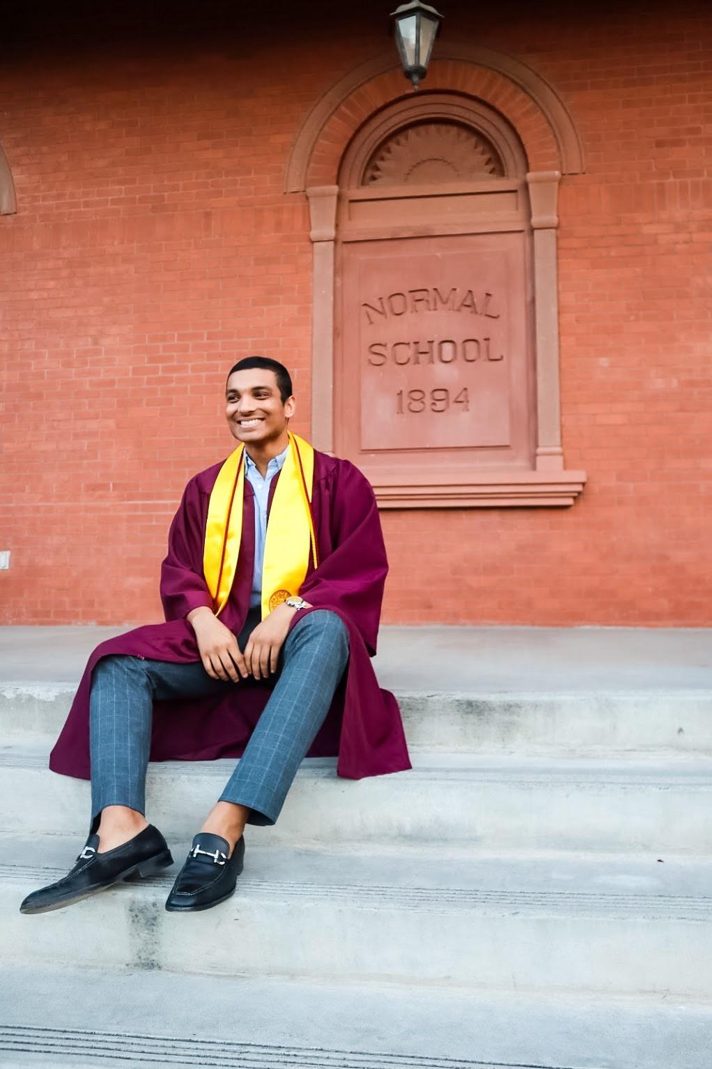 Ajay Bezawada, student story